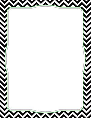 free chevron border template for word chevron black border chart barker creek