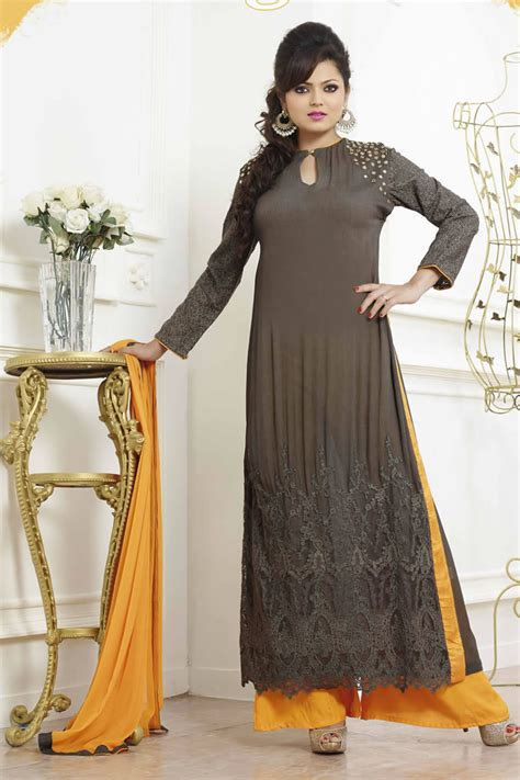 plazo suit stylish plazo suits designs with new styles in 2017 sari