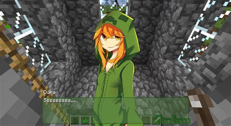 minecraft anime girl wallpaper cupa the creeper minecraft hd wallpaper of minecraft