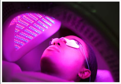 red led light therapy for eczema dermalux light therapy paul edmonds