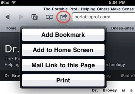 tip saving websites in safari with bookmarks and web