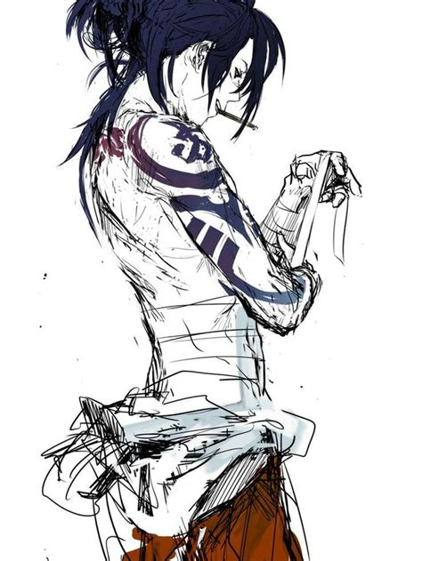 anime characters with tattoos anime image 2752327 by ksenia l on favim
