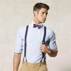 what hair styles suit braces braces with a blazer and flannel pants styleforum
