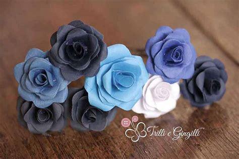 fiori sembrano di carta 5 originali segnaposto a forma di fiore per il matrimonio