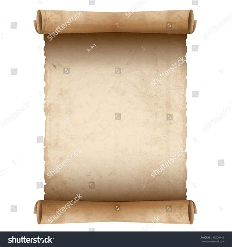 How To Make Scroll Paper - vector scroll paper stock vector 146209142
