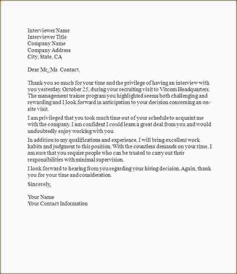 5 interview thank you letter template ganttchart template