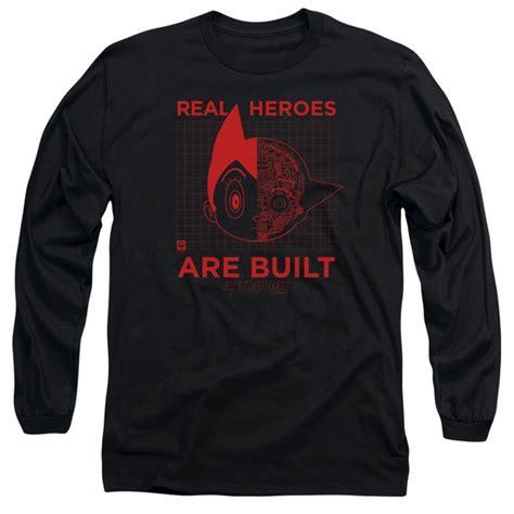Astroboy Tees astro boy sleeve shirt real black t shirt