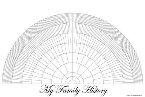 genealogy fan chart template free printable family tree fan chart printable pages