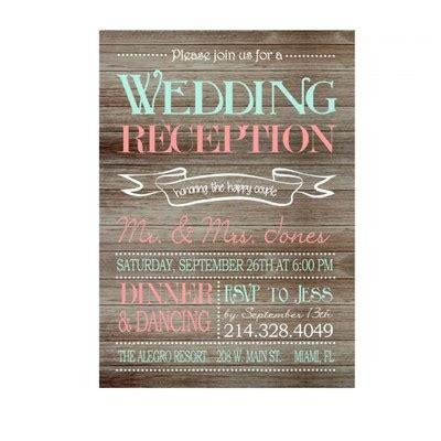 Wedding Invitations Reception Wording by Reception Only Invitation Wording Weddings Planning