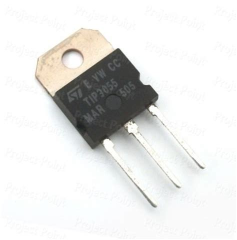transistor npn tip 3055 tip3055 npn power transistor npn transistor project point buy electronic components