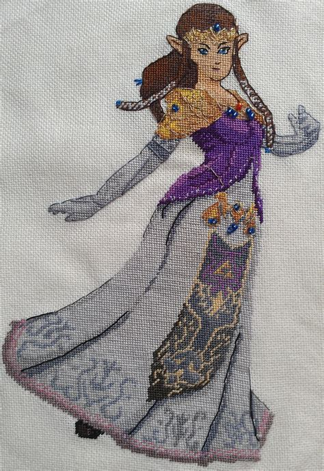 zelda cross stitch pattern princess zelda cross stitch by sirithre on deviantart