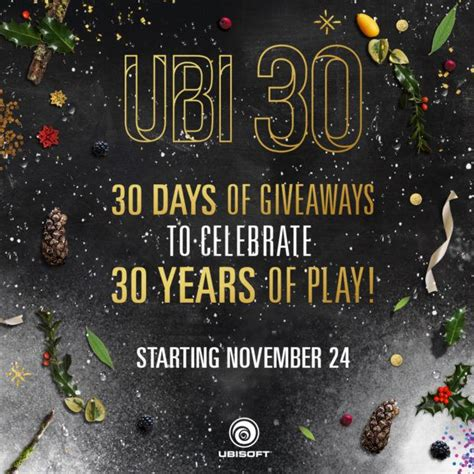 Ubisoft Giveaway - 30 days of ubisoft giveaway includes time limited offers segmentnext