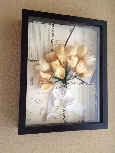Wedding Invitation Keepsake Shadow Box by Keepsake Wedding Flowers Invitations Announcements In