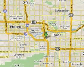 map tempe
