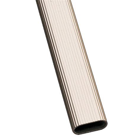 tubo armario oval estriado aluminio xxcm amig