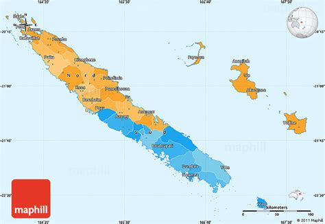 world map new caledonia political simple map of new caledonia