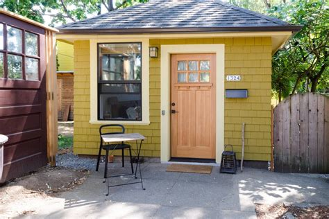 tiny house in backyard tiny house charming studio apartment in a tiny backyard house youtube