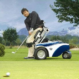 """paragolfer"" wheelchair designed for golf"