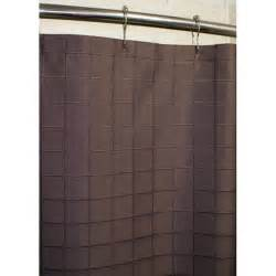 Lincoln brown grid shower curtain 13970317 overstock com shopping
