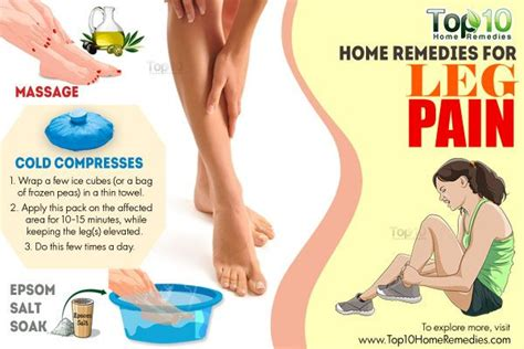 sore legs and after standing home remedies for leg top 10 home remedies