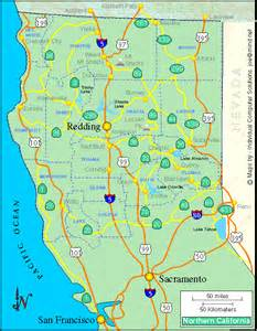 pin northern california counties and cities map image