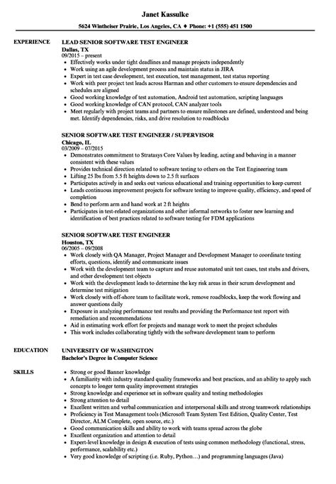 qa engineer resume accurate gallery senior qa sample 750 970 foundinmi