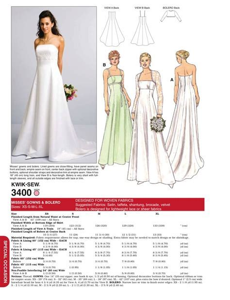 17 Best images about Wedding Dress Patterns on Pinterest