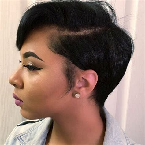black women hairstyles short on one side and long on the other 60 great short hairstyles for black women african