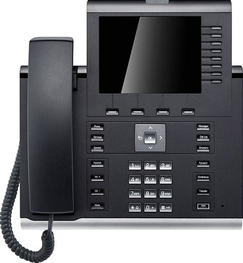 Desk Phone by Unify Openscape Desk Phone Ip 55g Hfa Text Black L30250 F600 C296 New
