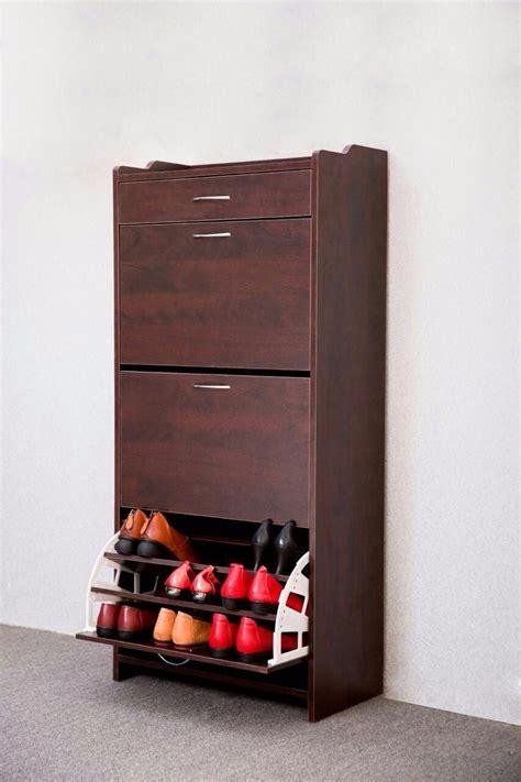 mueble  madera organizador de zapatos el container