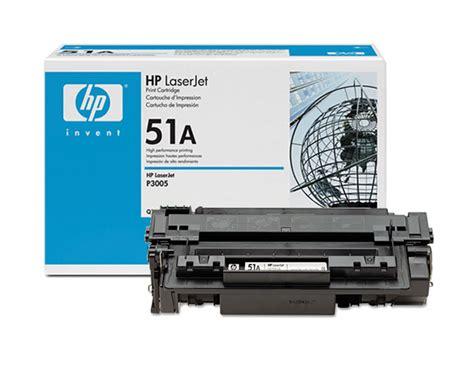 Hp Laserjet P3005 6 5k Toner Hitam hp part q7551a toner cartridge hp 51a 6500 pages