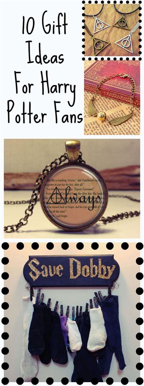 the ultimate gift guide for any true harry potter fan