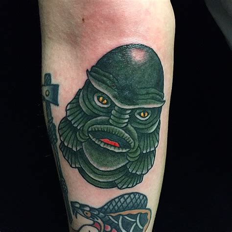creature from the black lagoon tattoo the creature from the black lagoon by karl blom swahili