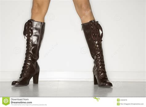 wearing boots wearing boots stock photo image 2424070