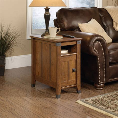 sauder carson forge side table sauder carson forge side table finishes