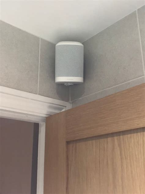 looking for a great bathroom speaker sonos has the