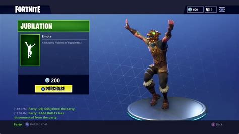 where fortnite emotes came from fortnite jubilation emote what it is how to get it more