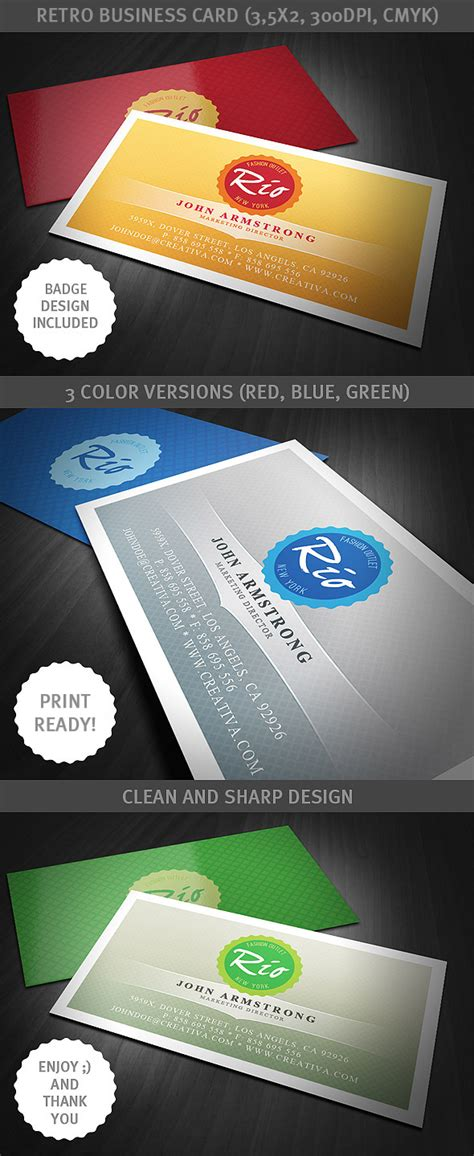 retro business card template retro business card template by hugoo13 on deviantart