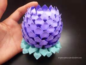 Lotus Oragami Papercraft June 2013