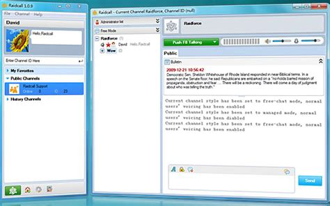 live free chat room instant raidcall 1 1 6 screenshots
