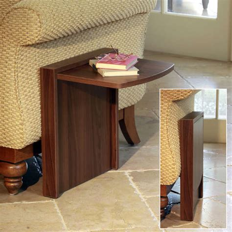 Collapsible Dining Room Table by A Side Table That Quot Disappears Quot When You Don T Need It