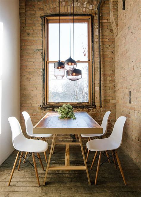 Industrial Dining Room Lighting 30 Ways To Create A Trendy Industrial Dining Room