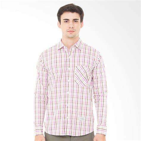 Baju Kemeja Pocket Pink jual kamis ganteng 16ds braymond kemeja pria pink