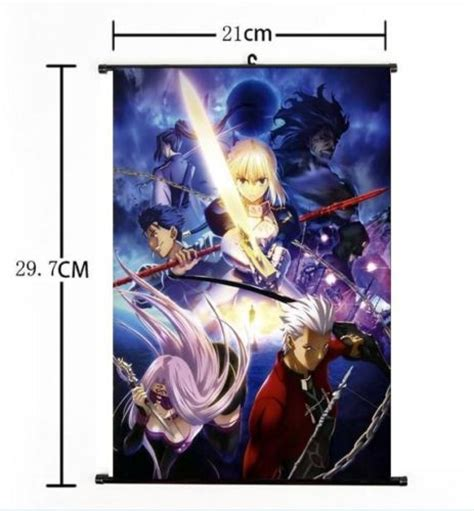 Anime Wall Scroll Poster Gantung Fate Stay Master Artoria aliexpress buy japan anime fate stay ubw saber home decor poster wall scroll