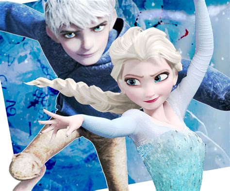 film elsa and jack frost elsa and jack frost couple elsa jack frost image elsa