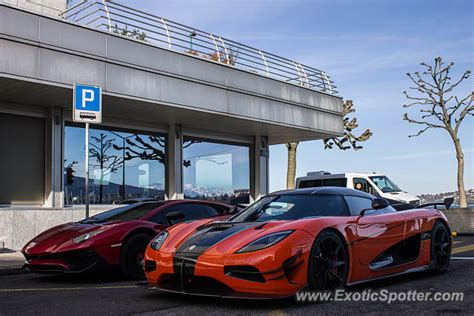 koenigsegg switzerland koenigsegg agera spotted in geneva switzerland on 03 09