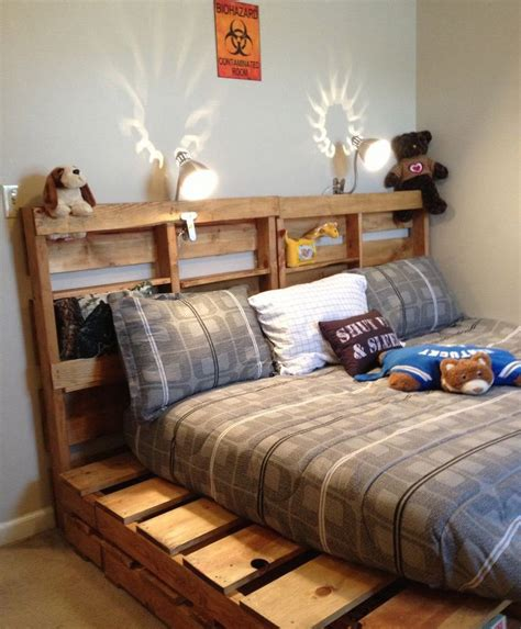 Ideas For Bed Frames 20 Brilliant Wooden Pallet Bed Frame Ideas For Your House