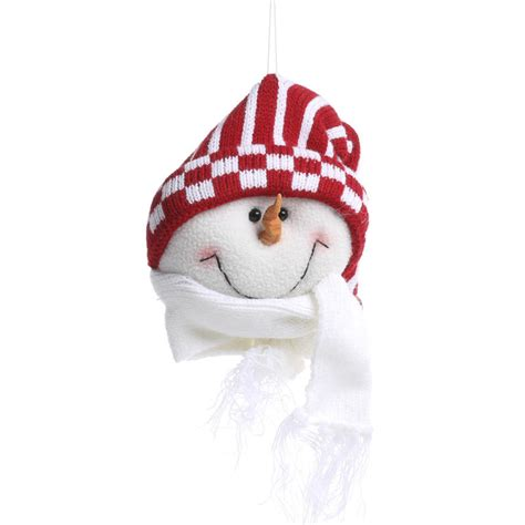 plush snowman ornament christmas ornaments christmas