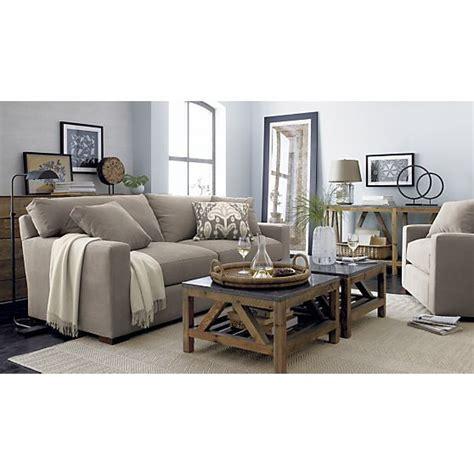 two coffee tables living room bluestone square coffee table crates crate and barrel and coffee tables
