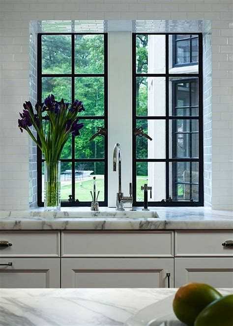 Kitchen Sink Windows My Kitchen Remodel Windows Flush With Counter The Inspired Room